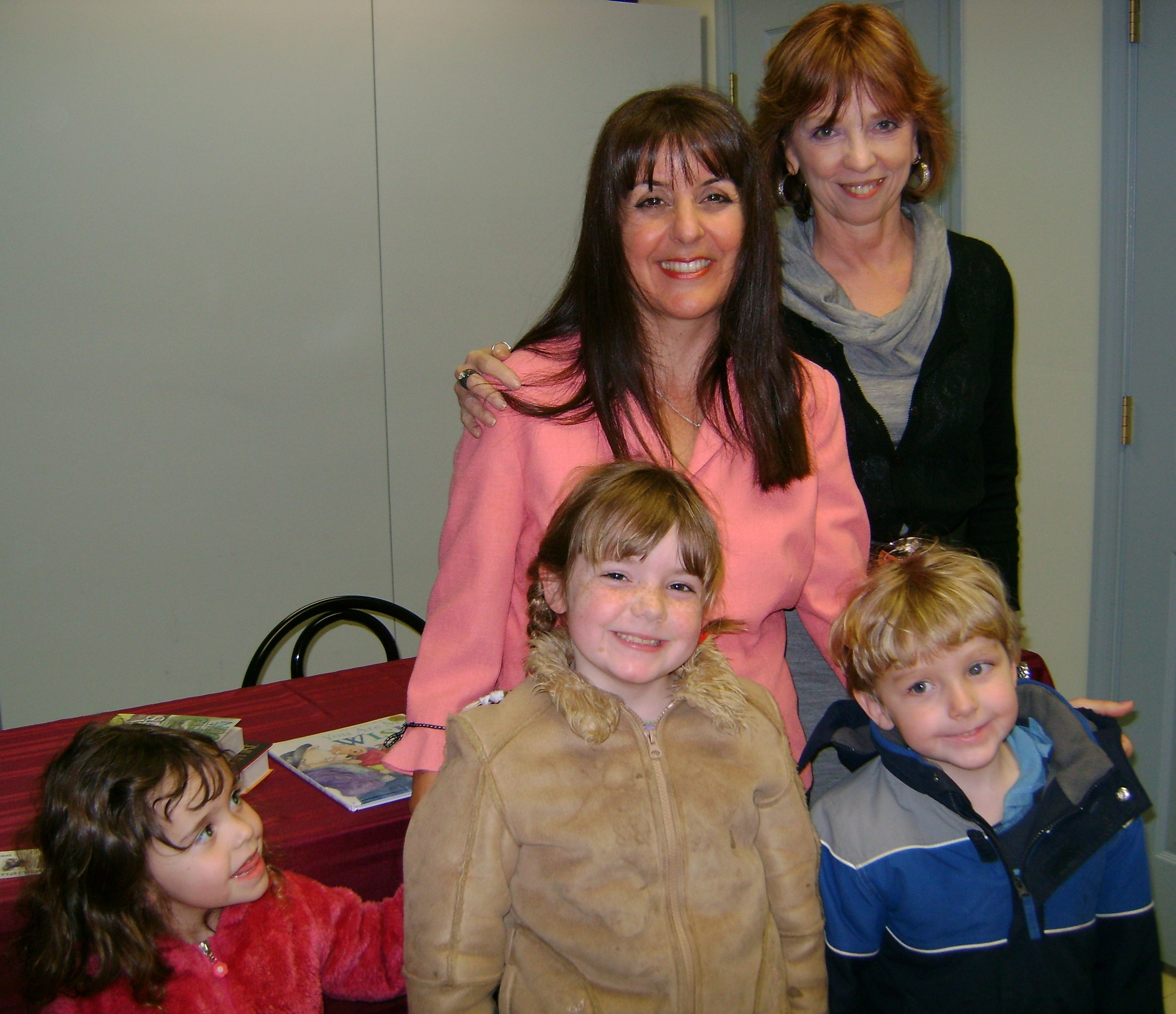 Book signing with Nora Roberts
